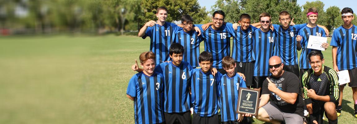 2014-15 Boys Soccer Champions!